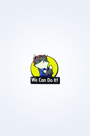 WE CAN DO İT AHŞAP ROZET